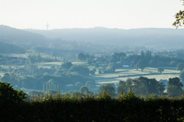 ochtend in het heuvelland